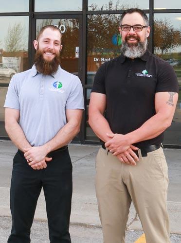 Chiropractor Omaha NE Nathan Lauenstein and Bret Heiser